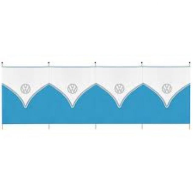 VW Windbreak 5 Pole - Blue