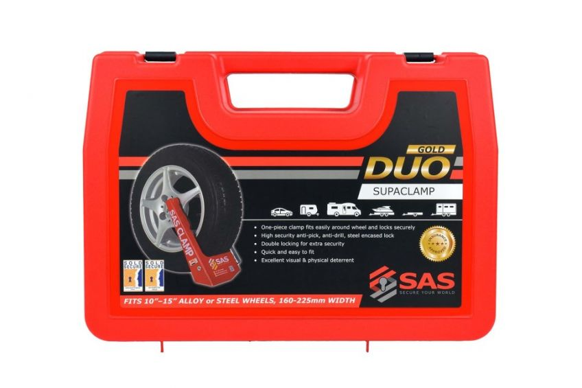 SAS Supaclamp Duo Gold Wheel Clamp