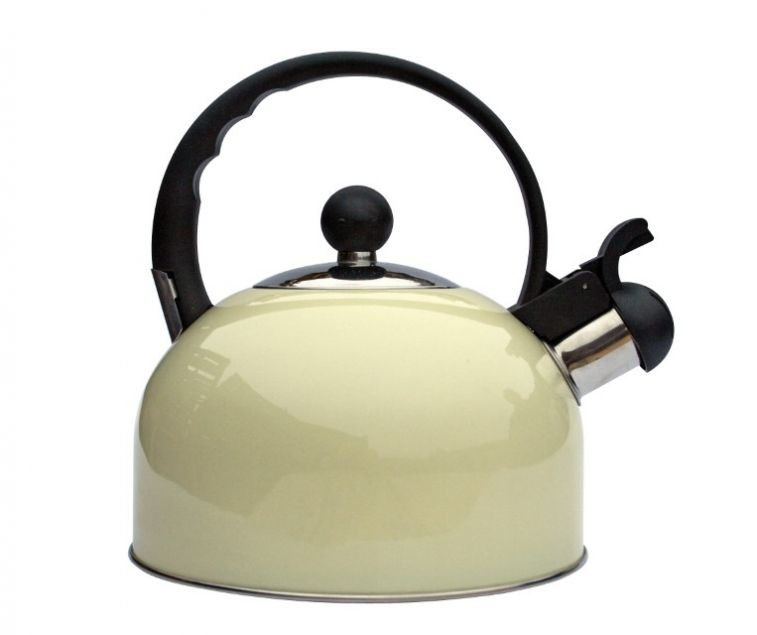 Quest 2.2ltr Cream Whistle Kettle
