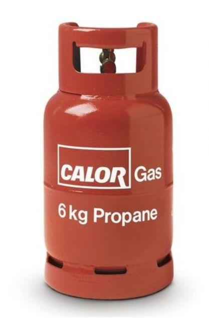 6kg Propane Calor Gas