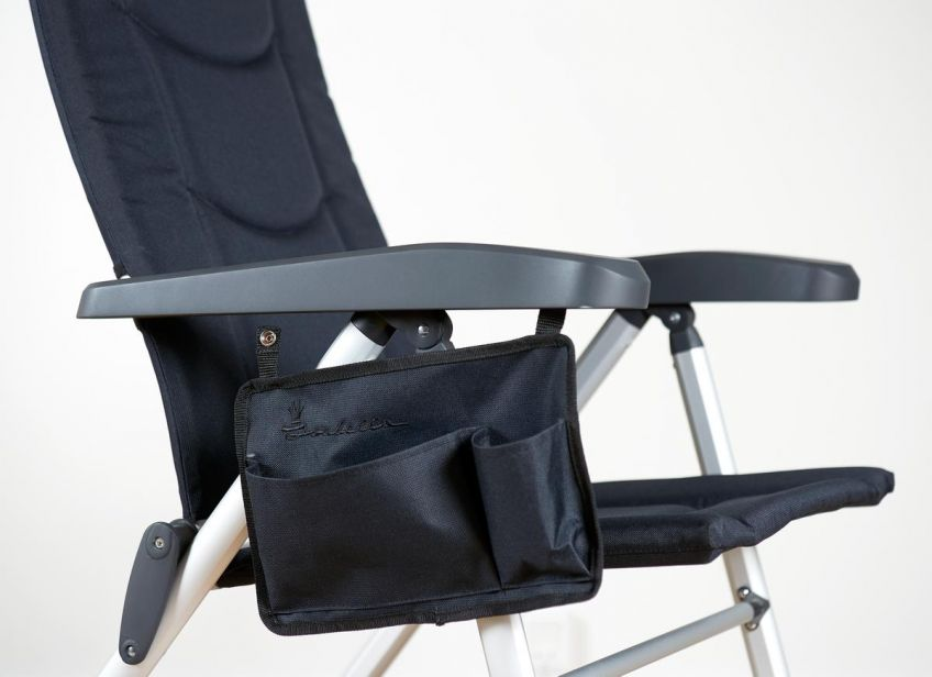 Isabella Chair Side Pocket Blue