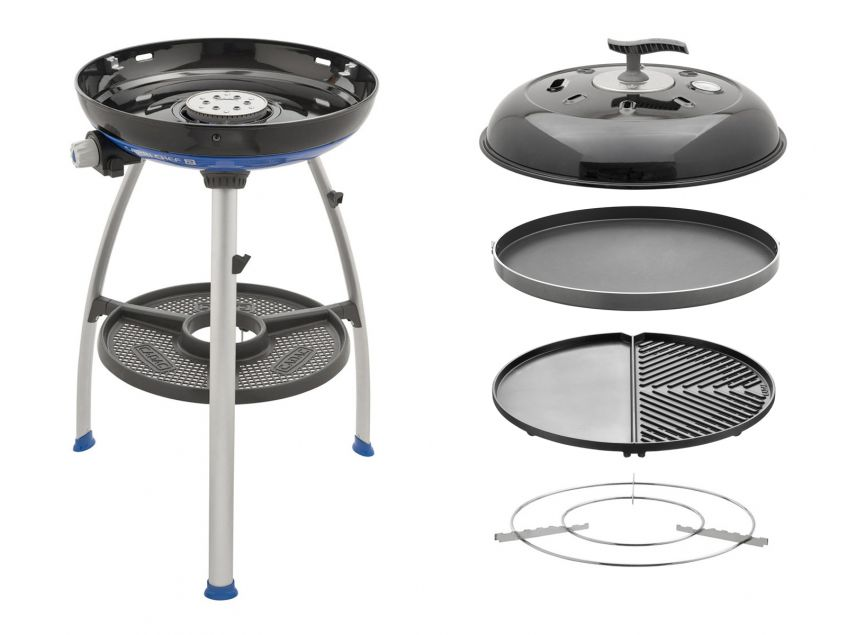 Cadac Carri Chef 2 Gas BBQ  Plancha/Chef Pan Combo