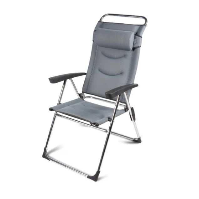 Kampa Lusso Milano Chair Pebble Grey