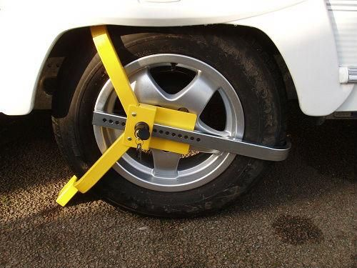 Milenco Lightweight Wheel Clamp