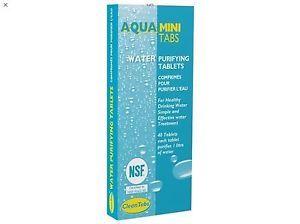 Aqua Mini Tabs