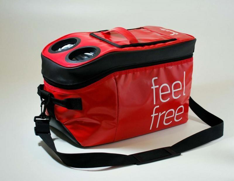 Isabella Cooler Bag Red