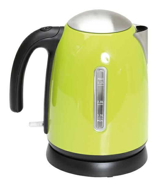 Quest Green S/Steel Kettle