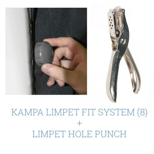 Kampa Limpet System + Limpet Hole Punch