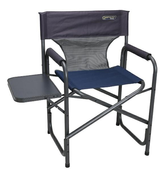 Quest Deluxe Surrey Directors Chair Blue
