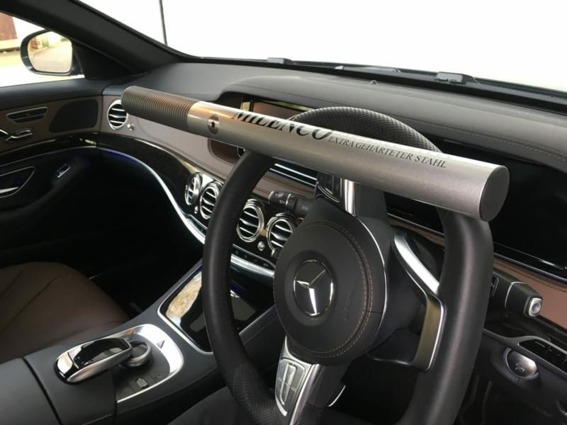 Milenco Steering Lock Silver