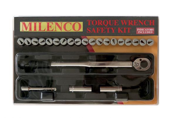 Milenco Torque Wrench Safety Kit Bailey
