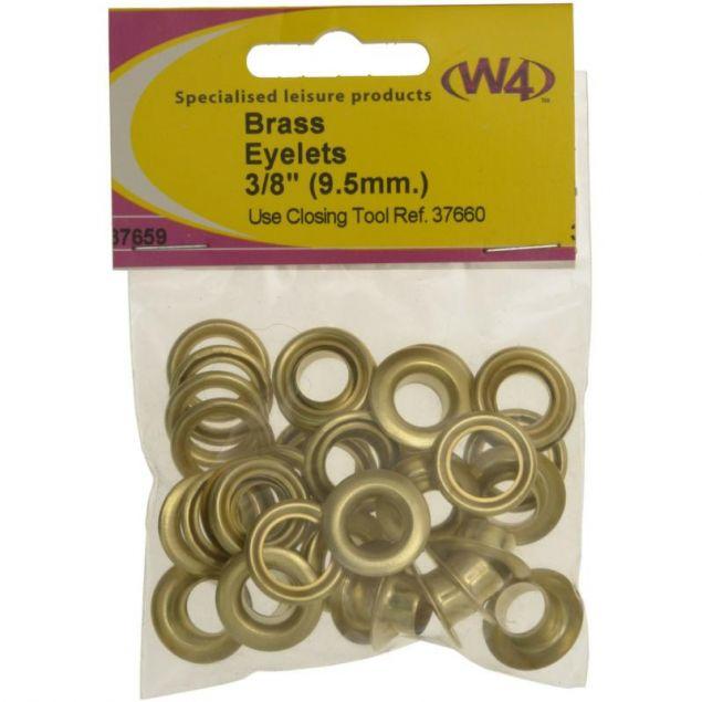 W4 Brass Eyelets 9.5mm