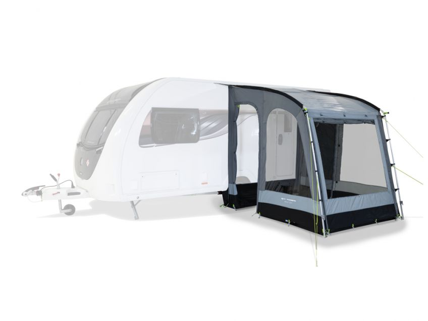 Kampa Rally Pearl Grey 2020 **Free Rear Poles and Storm Straps**