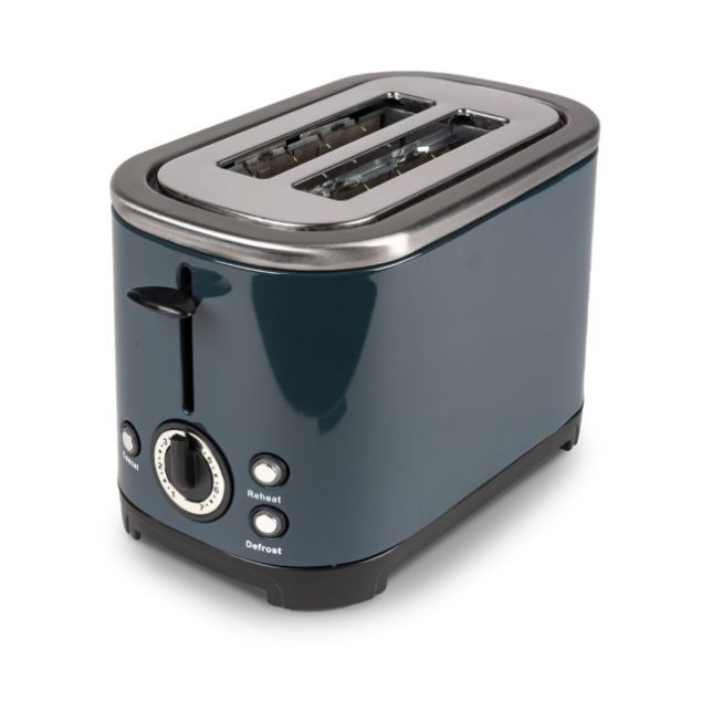 Kampa Deco Grey Stainless Steel Toaster