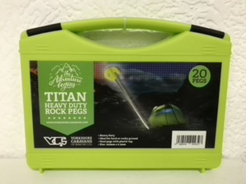 Titan Heavy Duty Rock Pegs
