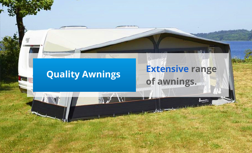 Extensive range of awnings